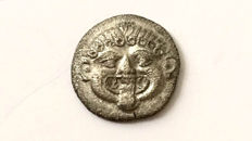 Greek Antiquity - Macedon. Neapolis. Late 5th to 4th Century B.C. AR Hemidrachm/ Gorgoneion, Scarce