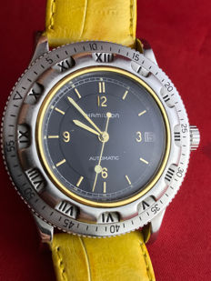 Hamilton Diver, Automatic watch, limited edition, Made in Switzerland, 1990s
