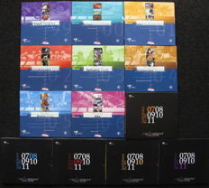 "The Netherlands - Year collections 1999/2006 ""Goede Doelen"" (""Charities"") (8 different kinds) + Year collections 2007/2011 ""National collection"" (5 different kinds) complete"