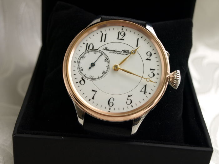 1 IWC Schaffhausen marriage men's wristwatch 1906-1907