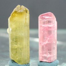 Terminated Natural Tourmaline Crystals Lot - 60 cts (2)