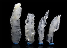Lot of High Quality Faden Quartz Crystals - 75 to 102 mm - 111 gm (4)