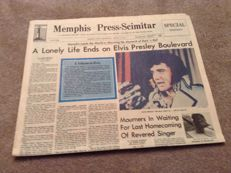 3 Original News Papers From 1977