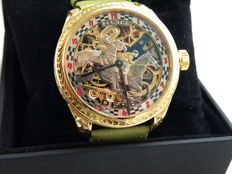 "Zenith - ""DERBY"" Skeleton Men's marriage watch - 1900-1905"