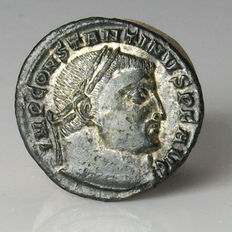 Roman Empire - Æ follis Constantine I 'the Great' - Siscia mint 313 AD