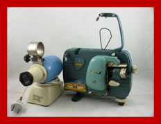 Kinga Baby from 1955 and a Meopta film projector from circa 1960