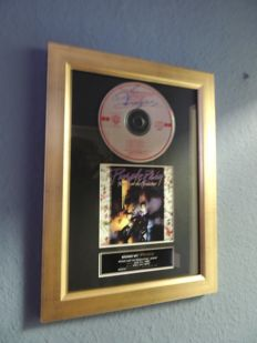 Prince - Purple Rain - Signed Autograph(in print) Cd With Cover