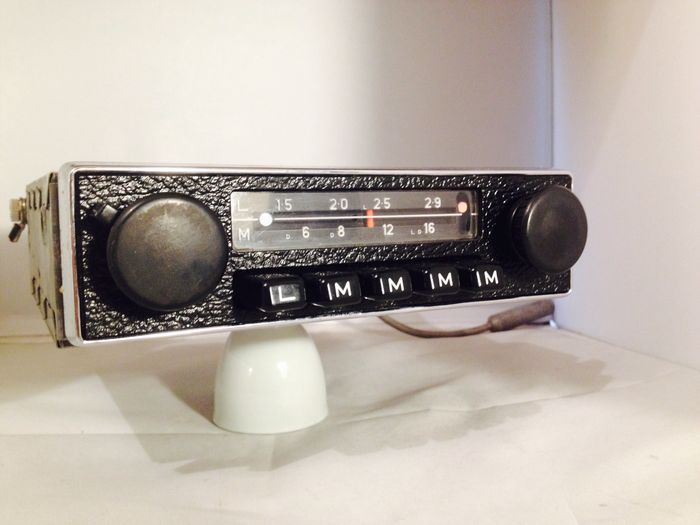 blaupunkt hamburg classic car radio from the 1960s for. Black Bedroom Furniture Sets. Home Design Ideas