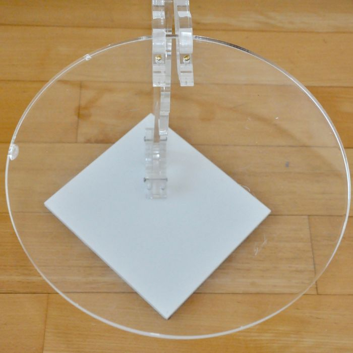 Designer unknown heavy perspex butler waitress side for Nfpa 99 table 5 1 11