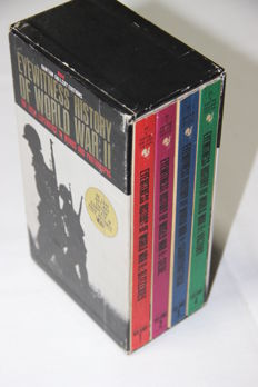 Abraham Rothberg - Eyewitness History of World War II - 4 volumes - 1962