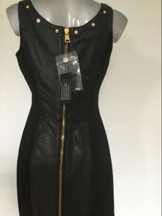 Versace - leather dress - new