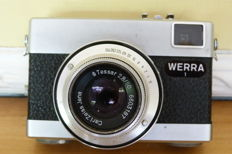 "Werra 1 - Carl Zeiss ""TESSAR"" lens in 4 elements with a 50mm focal"