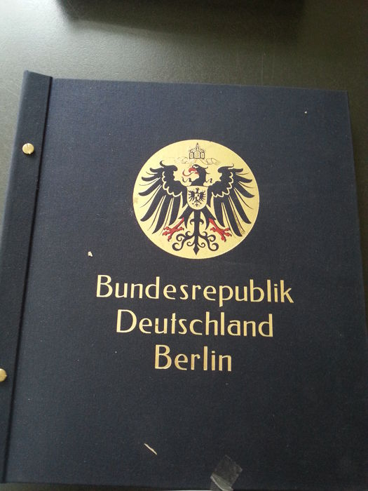 Berlin and West Germany, collection in two Davo albums