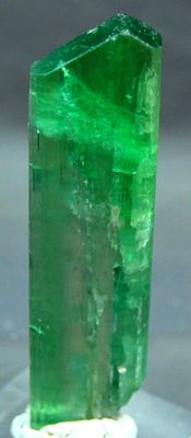 Damage free Terminated V Shape Hiddenite Kunzite Crystal - 100x28x07 mm - 53 Gram