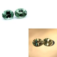 Alexandrite Pair -  2.04 ct. Total