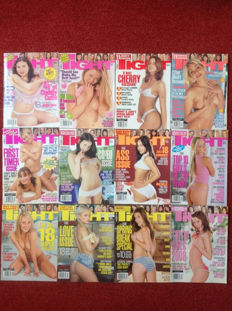 Pornography; Lot of 12 issues of Tight magazine - 2001/2008