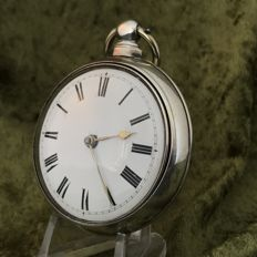 Fusee verge escapement pocket watch in double case – Circa 1820