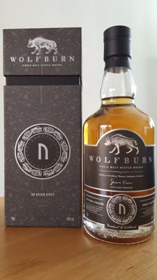 Wolfburn Kylver 2: ᚢ – uruz – 'aurochs or wild ox' - Limited Edition single malt Scotch whisky - only 1450 bottles worldwide
