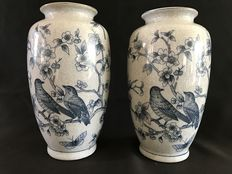Two beautiful V.N.P vases