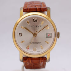 Lucerne De Luxe Datomatic Vintage Calendar Watch - Gent's Watch - 1960's