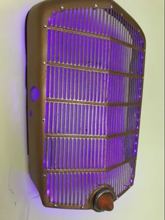 Opel P4 radiator grille - Vintage used look front grille Hot Rod