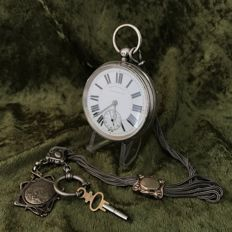 Large English lever pocket watch, ca. 1900