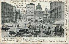 Napoli Naples 139+ old postcards, small format , L5