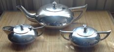 E.p.n.s  waranded  three part Tea set