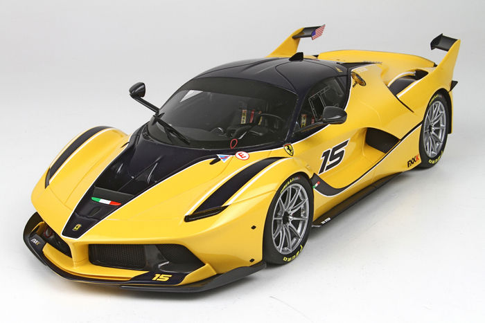 BBR - Scale 1/18 - Ferrari FXXK 2015 - Yellow