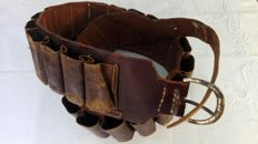 Old cartridge belt - country-style - Italy second half of the 20th century