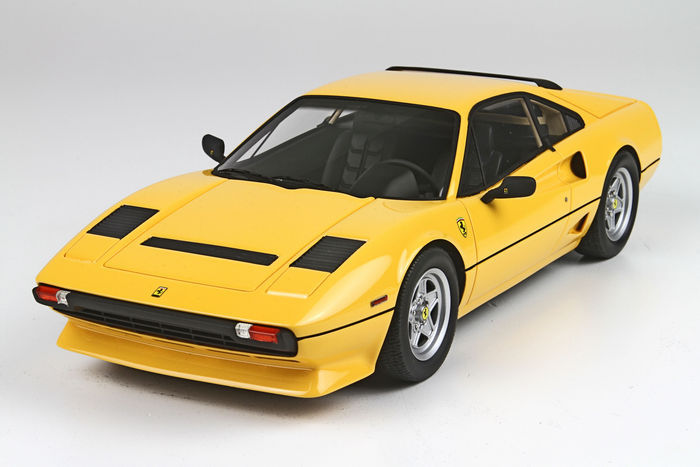 BBR - Scale 1/18 - Ferrari 208 Turbo 1982 - Yellow