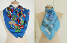 Burberrys and Christian Dior - 2 scarves