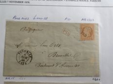 France 1818/1947 - Collection of 82 letters