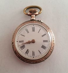 Antique Black Forest ladies' pocket watch - approx. 1900-1910