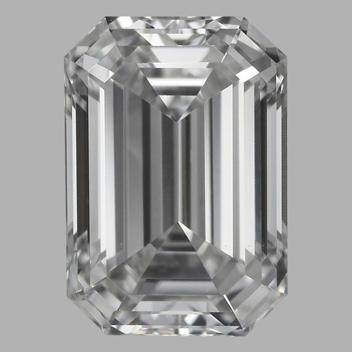 0.50 ct Emerald Cut Diamonds D VS1 IGI - Serial# 1876 Original image