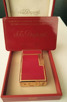 S.T. Dupont Chinese lacquer and gold 1995