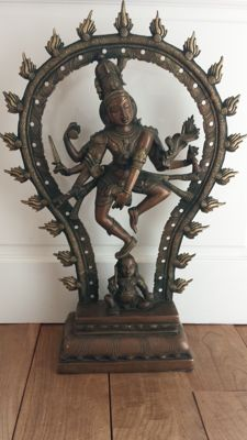Dancing Shiva ( 63cm 11kg) - India - late 20th century