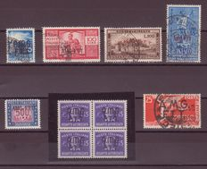 Trieste A 1947/54 small selection of stamps