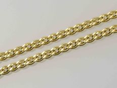 18k Gold. Chain Nonna. Length 45 cm. - No reserve