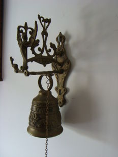 French Copper monastery bell.