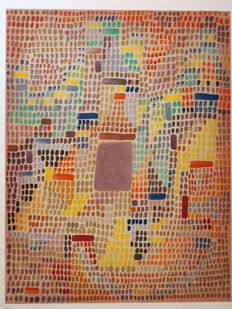 Paul Klee - With the Entrance