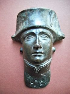 Napoleon I (1769-1821) - bronze plaque