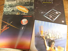 Great lot with 7 great Original albums of Supertramp