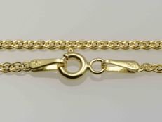 18k Yellow Gold Necklace. Chain Nonna. Length 50 cm. No reserve price.