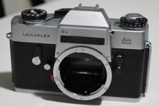 leicaflex sI  silver body plus bag
