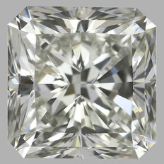 0.50ct Radiant Modified Brilliant Diamond H  VVS2 IGI - SEALED - Serial#1884-original image  -10X
