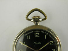 Elegant pocket watch / tailcoat watch by Klenzle - (no. 190)