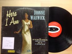 Dionne Warwick - Lot of 9 albums (8 LP's + one 2 records set = 10 LP's)   all older records.