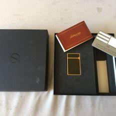 S.T. Dupont lighter- wood Lacquer
