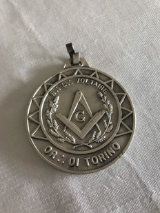 Pendant/Masonic medal - order OR. : FROM TURIN